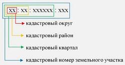Как расшифровать кадастровый номер