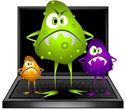 Как проявляют себя вирусы на сайте
