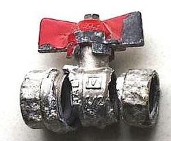 Шаровой кран из цинково-алюминиевого сплава (ЦАМ)