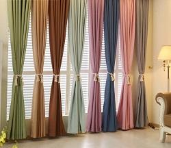 сочетания тканей для окна