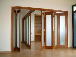 Дверь-гармошку