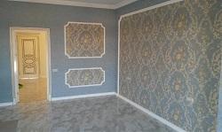 Покрытие стен тканью
