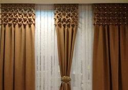 Складки-буфы на шторах
