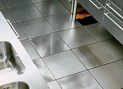 металл напольное покрытие