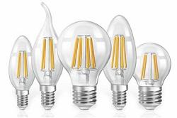 цоколи филаментных ламп