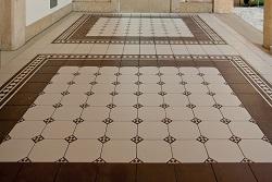 Напольные покрытия из плитки