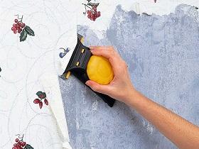Подготовка стен, ранее оклеенных обоями