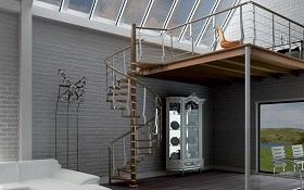 консольные лестницы на антресольный этаж