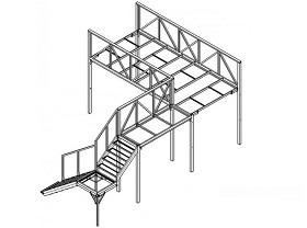 Конструкция антресольного этажа