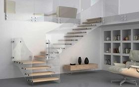маршевая лестница на антресольный этаж