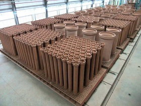 Керамические дренажные трубы