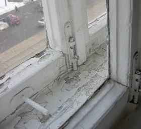 Советские двухрамные окна
