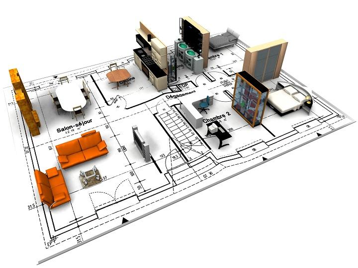 Планировка и оборудование помещений жилого дома