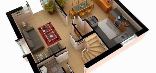 Планировка и оборудование жилых комнат