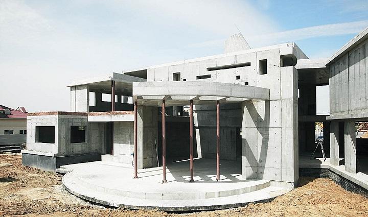 Несущий остов жилого дома