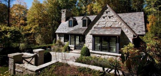 Стены из природного камня