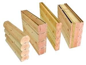 Толщина стен в деревянном доме