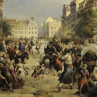Русские казаки в Берлине