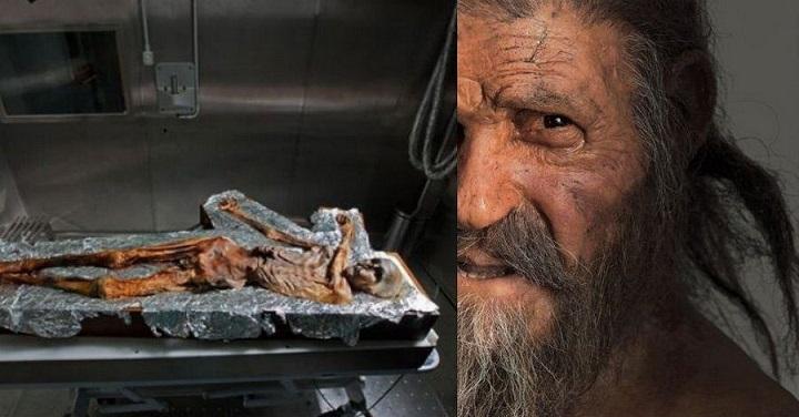 Доисторический мужчина Эци