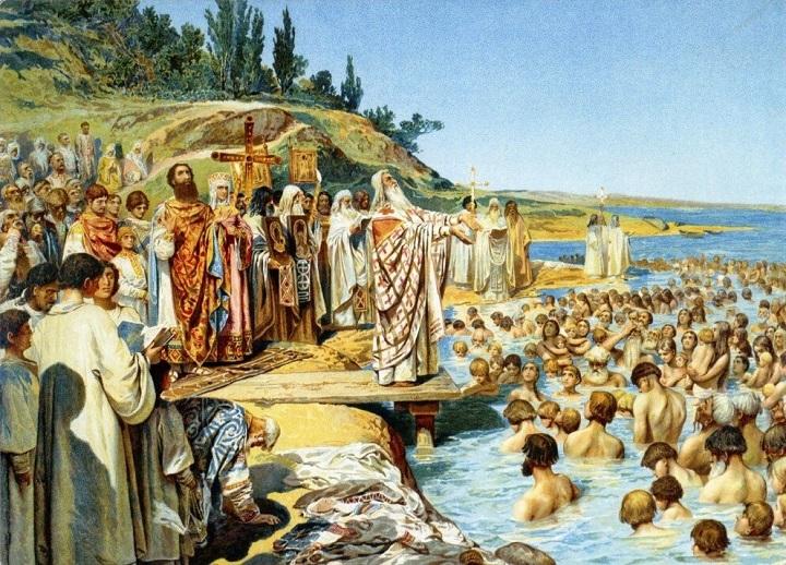 Крещение на Руси началось задолго до Владимира