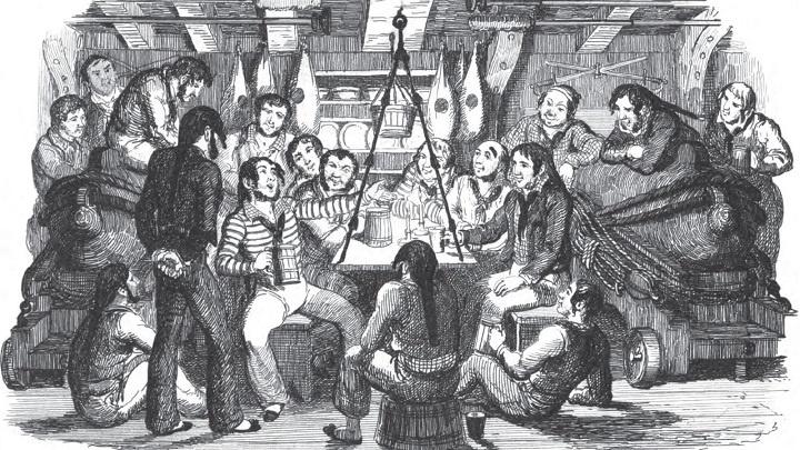 Почему английские моряки не встают, когда пьют за здоровье короля