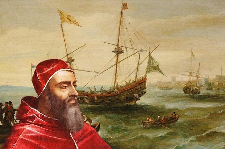 Как пират стал папой римским