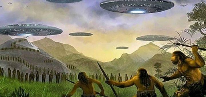 Кто прилетал на Землю 14 тысяч лет назад