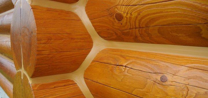 Герметизация швов деревянных домов